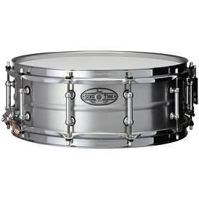 "Pearl Sensitone Beaded & Seamless Aluminum Snare 14""x5"""