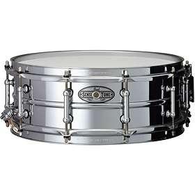 "Pearl Sensitone Beaded Steel Snare 14""x5"""
