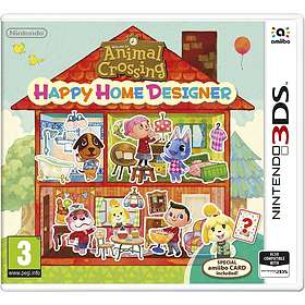 Animal Crossing: Happy Home Designer (incl. Amiibo Card)