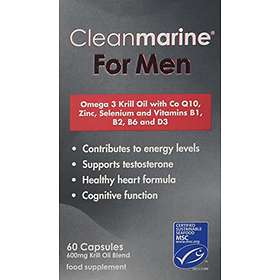 Cleanmarine Krill Oil for Men 60 Capsules