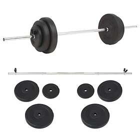 vidaXL Dumbbell Set 30kg