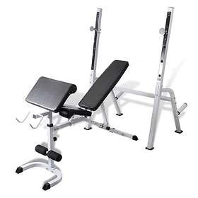 vidaXL Multi-Exercise Workout Bench
