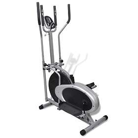 vidaXL Orbitrac Elliptical Trainer Exercise Bike 4 Pole Pulse