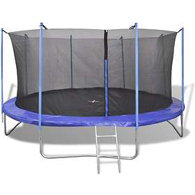 vidaXL Trampoline with Safety Net 427cm