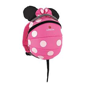 6f2fa2e34d Find the best price on LittleLife Big Disney Pink Minnie Mouse Kids Backpack