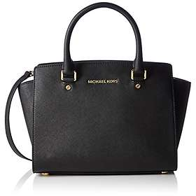 2ab6ab2d98d5 Find the best price on Michael Kors Selma Saffiano Leather Medium ...