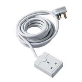 Masterplug One Gang Extension 5m