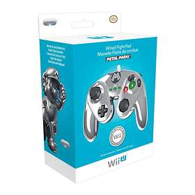 PDP Wii U Fight Pad Controller - Metal Mario 30th Anniversary Edition (Wii U)