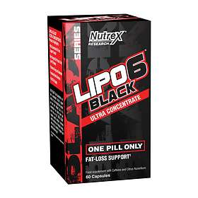 Nutrex Research Lipo-6 Black Ultra Concentrate 60 Capsules