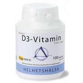 Helhetshälsa D3-Vitamin 3000IU 100 Kapslar