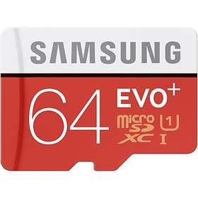 Samsung Evo+ microSDXC Class 10 UHS-I U1 64GB