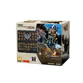 Nintendo New 3DS (incl. Monster Hunter 4 Ultimate & Coverplate)