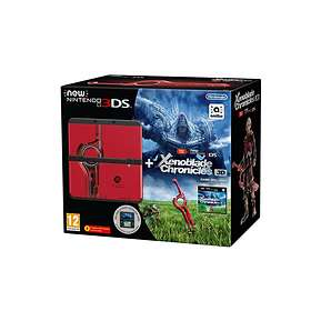 Nintendo New 3DS (incl. Xenoblade Chronicles 3D & Coverplate)