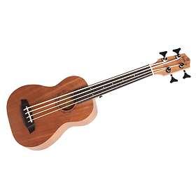 Risa koki'o mahogany EQ Bass Fretless