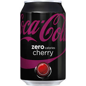 Coca-Cola Cherry Zero Burk 0,355l 24-pack