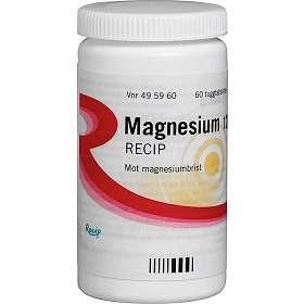 Recip Magnesium 120mg 60 Tabletter