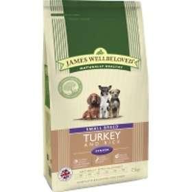 James Wellbeloved Dog Senior Small Breed Turkey & Rice 7.5kg