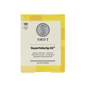 Shift Super Naturlig-D3 100 Tabletter
