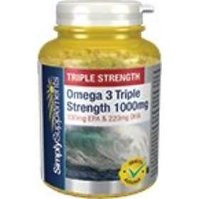 Simply Supplements Omega 3 Triple Strength 1000mg 240 Kapslar