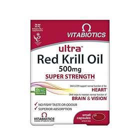 Vitabiotics Ultra Red Krill Oil 500mg 30 Capsules