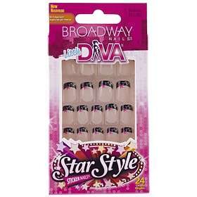 Find the best price on Broadway Nails Little Diva False Nails 24 ...