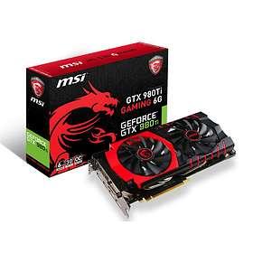 MSI GeForce GTX 980 Ti Gaming HDMI 3xDP 6GB