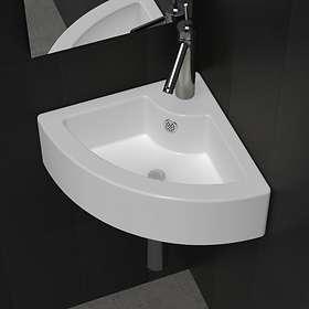 vidaXL Hörnhandfat 140697 (White)