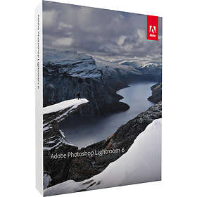 Adobe Photoshop Lightroom 6 Win/Mac Sve (ESD)