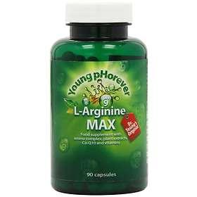 Young pHorever L-Arginine Max 90 Capsules