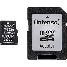 Intenso Professional microSDHC Class 10 UHS-I U1 90MB/s 32GB