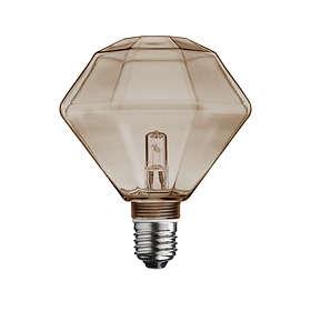 Globen Diamant Rök E27 18W (Ø125)