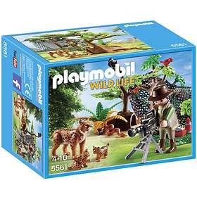 Playmobil Wild Life 5561 Gaupefamilie med Filmfotograf