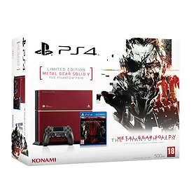 Sony PlayStation 4 500GB (incl. Metal Gear Solid V) - Limited Edition