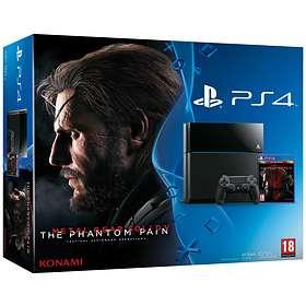 Sony PlayStation 4 500Go (+ Metal Gear Solid V)