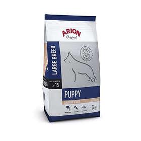 Arion Petfood Dog Puppy Large Salmon & Rice 12kg