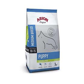 Arion Petfood Dog Puppy Medium Salmon & Rice 12kg