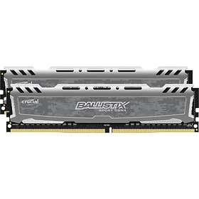 Crucial Ballistix Sport LT Gray DDR4 2400MHz 2x8GB (BLS2C8G4D240FSB)