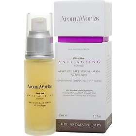 AromaWorks Anti-Ageing Absolute Face Serum Mask 30ml