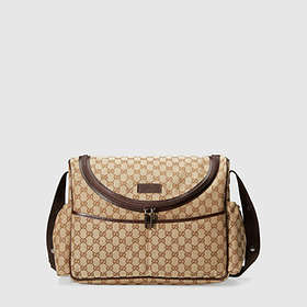 closer at exquisite style united states Gucci Guccissima Diaper Bag au meilleur prix - Comparez les ...