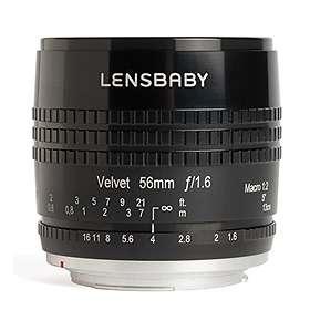 Lensbabies Lensbaby Velvet 56/1,6 for Fujifilm X