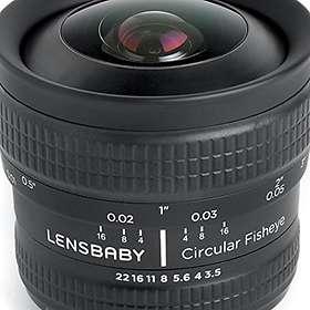 Lensbabies Lensbaby 5,8/3,5 Circular Fisheye for Fujifilm X