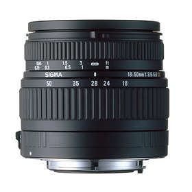 Sigma 18-50/3,5-5,6 DC for Canon