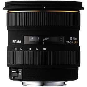 Sigma 10-20/4,0-5,6 EX DC HSM do Canon