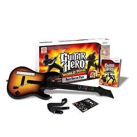 Guitar Hero: World Tour (inkl. Gitarr) (Wii)