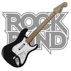 Harmonix Music Rock Band Guitar (Wii)