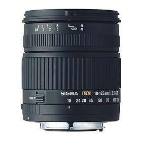 Sigma 18-125/3,5-5,6 DC for Nikon