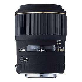 Sigma 105/2,8 EX DG Macro 1:1 for Nikon