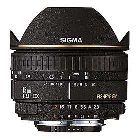 Sigma 15/2.8 EX DG Fisheye for Nikon