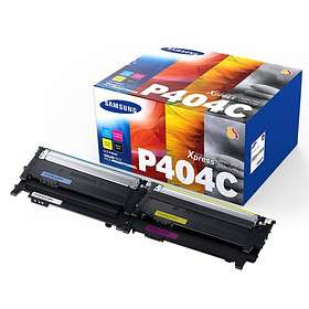 Samsung CLT-P404C (Sort/Cyan/Magenta/Gul)