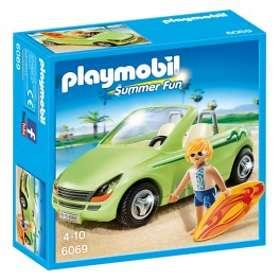Playmobil Summer Fun 6069 Surfeur et voiture décapotable
